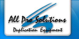 All Pro Solutions CD and DVD Duplication Equipment Logo